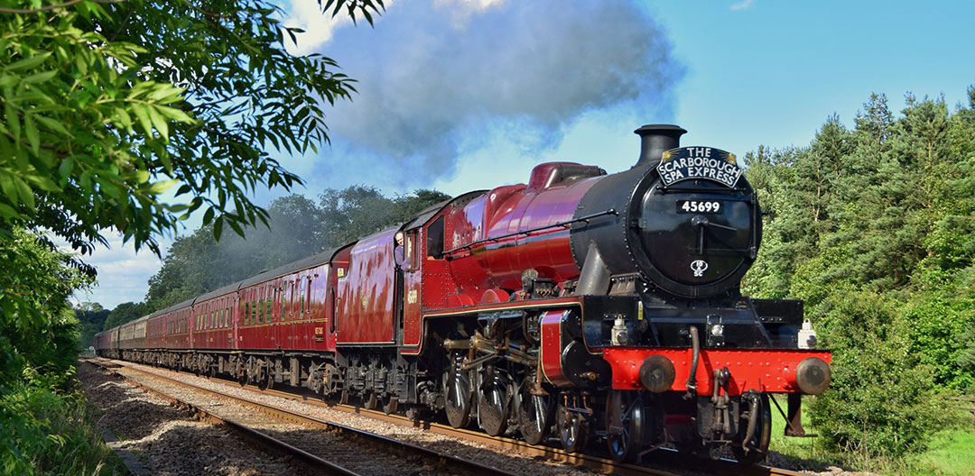 The Scarborough Spa Express Steam Train