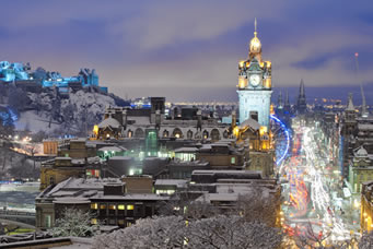 Edinburgh - Christmas Special