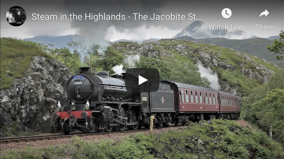 Steam in the Highlands -  The Jacobite Steam Train