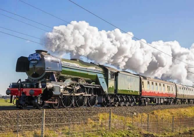 Railtours Tours Throughout The UK